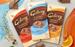 Mars launching vegan versions of Galaxy chocolate bars
