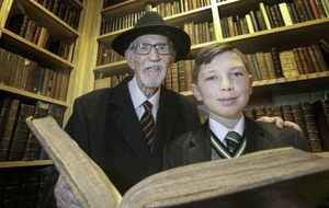 William Pimley (99) travels down memory lane at St Malachy's College eight decades on