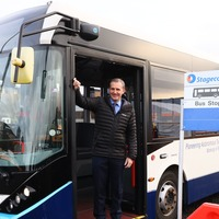 Self-driving bus demonstrated ahead of Forth Road Bridge launch