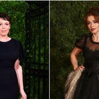 Olivia Colman and Helena Bonham Carter turn heads at The Crown premiere