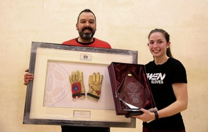 Catriona Casey and Diarmuid Nash put Golden Gloves handball titles on line