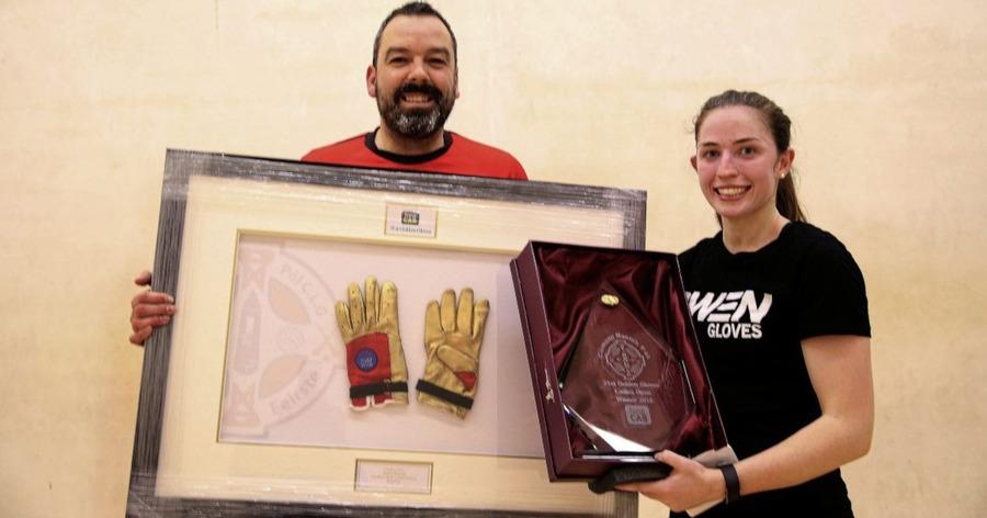Catriona Casey and Diarmuid Nash put Golden Gloves handball titles on line - The Irish News