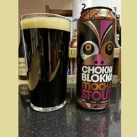 Beer: William Brothers' Chokka Blokka stout and Tin Man Tropical IPA