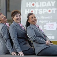 Three former Thomas Cook staff opt to fly solo in new 'Holiday Hotspot' in Larne