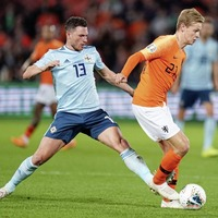 Northern Ireland's Paddy McNair looking forward to renewing rivalry with Dutch ace Frenkie de Jong