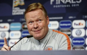Dutch boss Ronald Koeman can expect 'nice welcome' at Windsor says Northern Ireland's Michael Smith