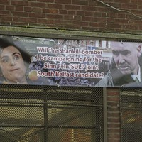 Anti-Claire Hanna banner put up in south Belfast