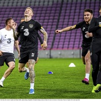 Support for James McClean comes slowly as Republic prepare for Danes
