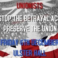 Loyalists plan Ulster Hall rally to oppose Boris Johnson's Withdrawal Agreement