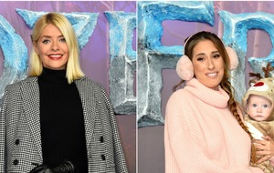 Holly Willoughby and Stacey Solomon among stars at Frozen premiere