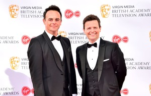 Ant and Dec appear to make Duke of York 'sweat' joke