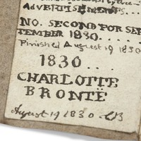 Charlotte Bronte book returns 'home' after museum's £511,000 auction success