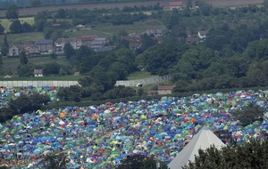 Glastonbury in numbers: 50 years at Worthy Farm