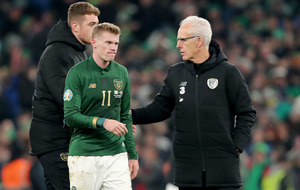 Heart-break of Denmark will have to be replaced with hope of play-offs for Ireland