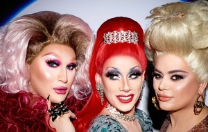 RuPaul's Drag Race UK finalists in photoshoot with Rankin