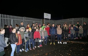Children protest following closure of their Irish medium youth club