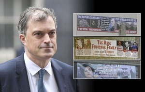 Banners targeting John Finucane and Claire Hanna 'utterly offensive' says secretary of state