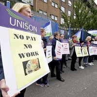 Unison healthcare workers to begin 'work to rule' action next week