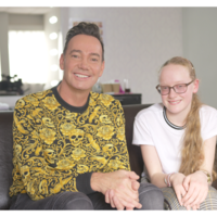 Craig Revel Horwood shows softer side with teenage fan