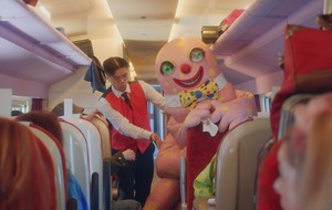 Mr Blobby helps Virgin Trains say goodbye to Britain's railways