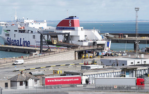 16 people found alive in sealed container on ferry to Rosslare
