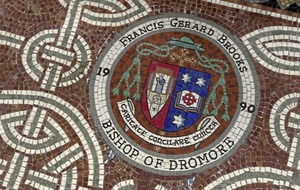 Bishop Brooks mosaic to be removed from Newry Cathedral 'within weeks'