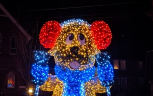 Council sparks 'Marmite-reaction' with Alpine rodent Christmas lights display