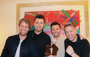 Westlife score first number one album in more than a decade