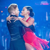 Alex Scott and Neil Jones stuck together after Strictly wardrobe 'malfunction'