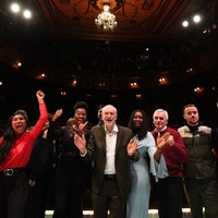 Pop stars and film makers rally behind Corbyn's 'last stand'