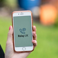 UK's text relay app service relaunches