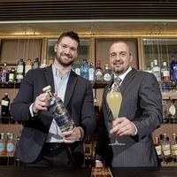 The taste of Galgorm - in a gin bottle