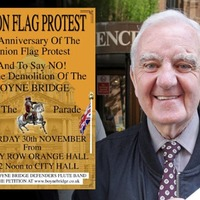 Belfast parade planned to mark seven years since union flag protests