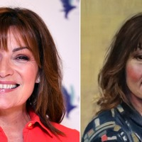 Lorraine Kelly portrait by Dundee graduate unveiled live on TV