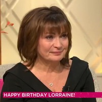 Lorraine Kelly weeps as she receives special honour to mark her 60th birthday