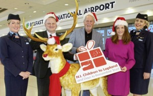 Winter wonderland wishes come true as sick kids jet off to meet Santa in Lapland