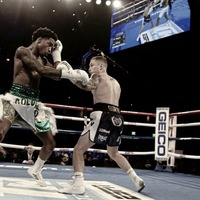 Carl Frampton looks to showdown with Jamel Herring after victory in Vegas