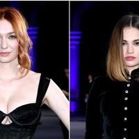 Stars elegant in black at Bifa awards