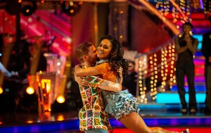 Neil Jones praises Alex Scott as the couple are booted off Strictly