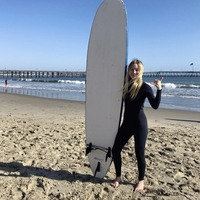 Want to surf? California's famous beaches are the ideal spots to find your feet