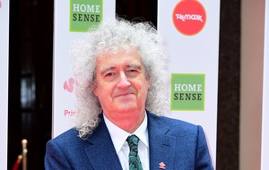 Brian May says he is 'feeling good' after leg surgery