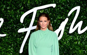 Millie Mackintosh shows off baby bump at Fashion Awards