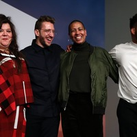 Joint Turner Prize winners hit out at 'hostile environment'