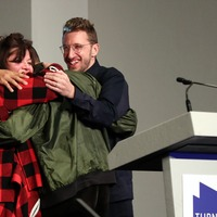 Joint Turner Prize winners criticise Tories for 'hostile environment'