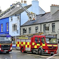 Two taken to hospital after accidental fire at Donaghadee restaurant