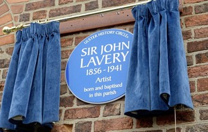 Artist John Lavery honoured with blue plaque