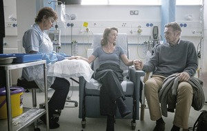 Liam Neeson and Lesley Manville 'share a delightful on-screen chemistry' in cancer drama Ordinary Love
