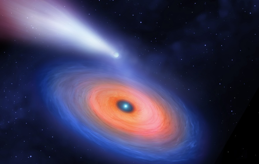 Giant planet around white dwarf gives glimpse into solar system's future