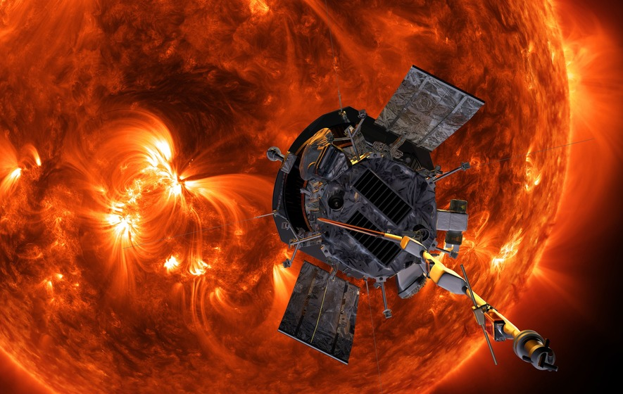 Surprising first results from NASA's sun-skimming spacecraft