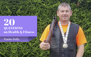 20 Questions: World champion clay pigeon shooter Franko Duffy on how he hits his health targets